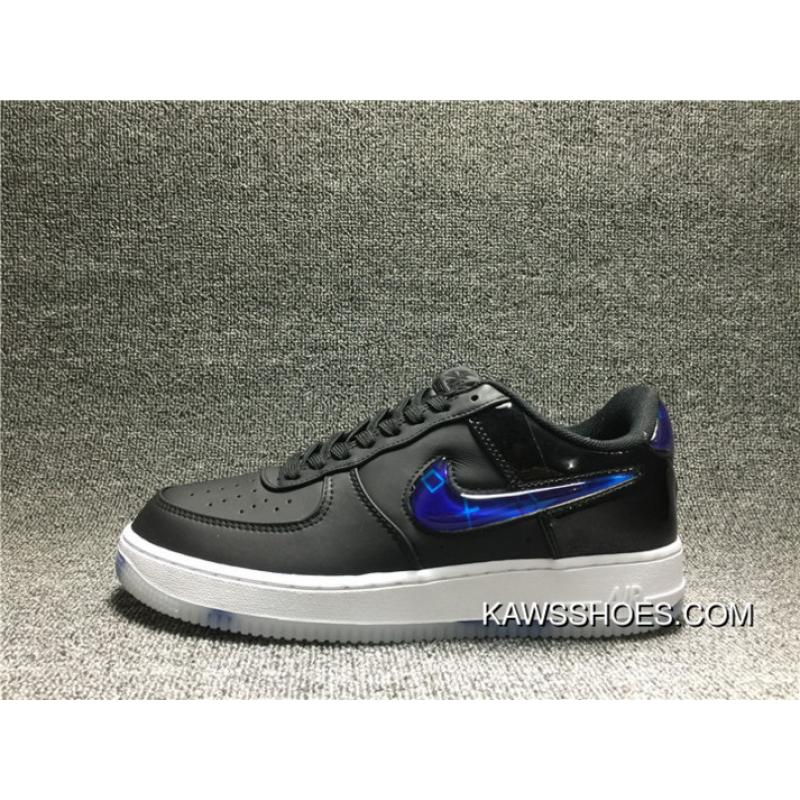 27d38077497 Free Shipping 350 Nike Air Force 1 Low PlayStation AF1PS BQ3634 001 One  Collaboration Men Shoes ...