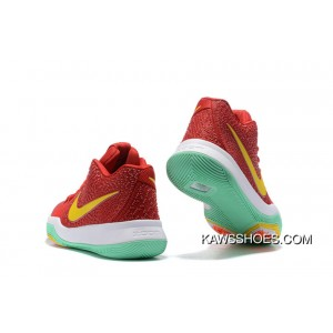 low priced a0775 bd11d New Green Yellow Red Kyrie Irving 3 Kyrie 3 Shoes TopDeals