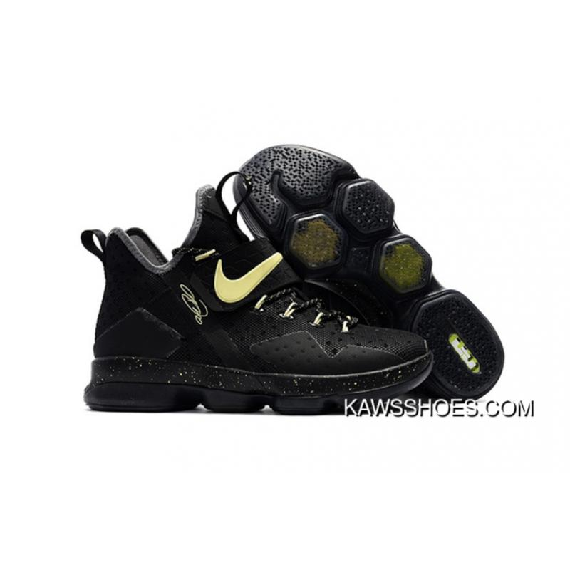 factory authentic f7a62 ced20 New Nike Lebron 14 Glow In The Dark Black Shoes TopDeals ...