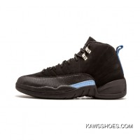 602b197ddf6 Super Deals Nike Air Jordan 12 Retro Melo Black North Carolina  Lfu-136001-014