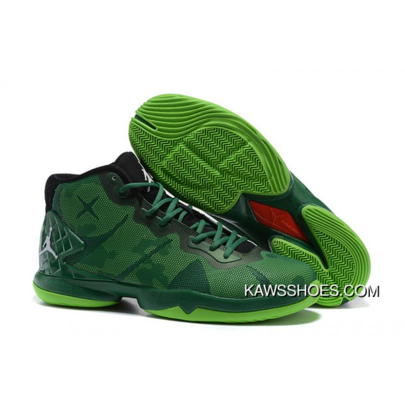 ef8e45e490945f New Jordan Super.Fly 4 Red Green Black Blake Griffin Sneakers Shoes  TopDeals ...