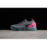 79dae326879a Grey Red 942843-004 Nike Air Vapormax Flyknit 2.0 Women Shoes And Men Shoes  New