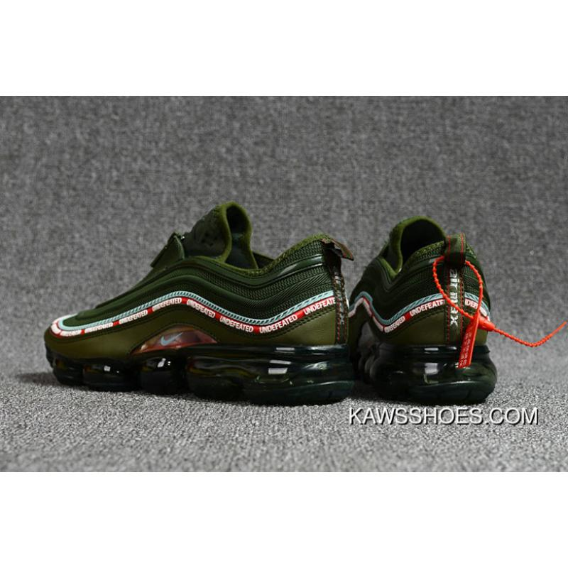 d0fc421f931bc ... Nike Air Vapormax 2018   97 Army Green Mens Running Shoes New Release