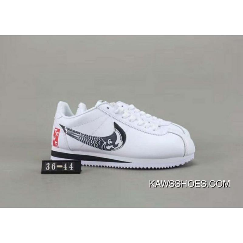 reputable site b418e b60d2 Women/Men Free Shipping Paragraph 80 Nike COURT ROYALE Collaboration  Limited Cortez Shells Retro Jogging Shoes Leather Match Material Size Code