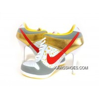 8df3692356cf New Red White Gold Nike High Heels Low Dunk Sb Shoes TopDeals