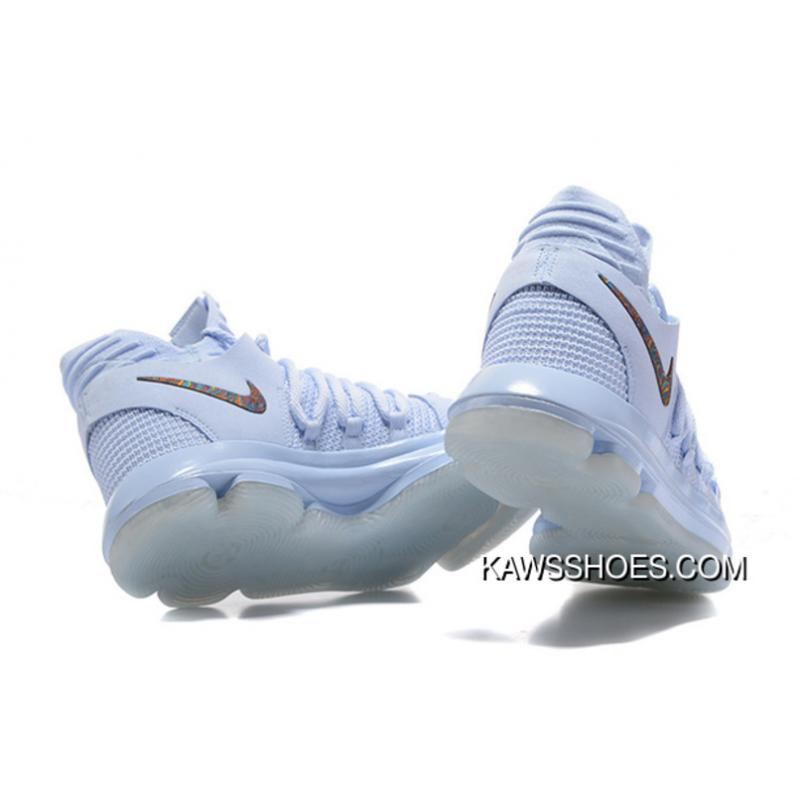 quality design f5b11 54441 ... New Nike Kdx 10 Anniversary Faint Multi Blue Shoes TopDeals ...