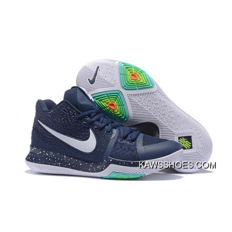cheap for discount 93fde c9b2a New Navy Kyrie 3 Shoes Whitekyrie 3 Shoes TopDeals