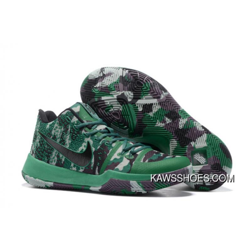 buy popular b0a98 dff72 New Nike Kyrie 3 Camo Green Kyrie 3 Shoes TopDeals