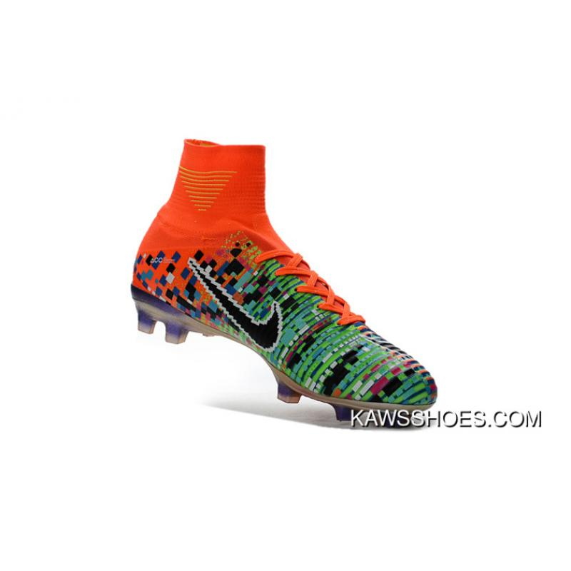 hot sale online 2c7c8 2164a Arrived Nike Ea Collaboration Limited Colorways Superfly V Fg Men Women  Soccer Shoes Mercurial X Ea Sports 1 Copuon