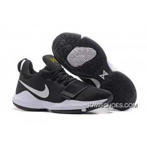 New Nike Pg 1 On Black White Shoes TopDeals ... 59e27db17
