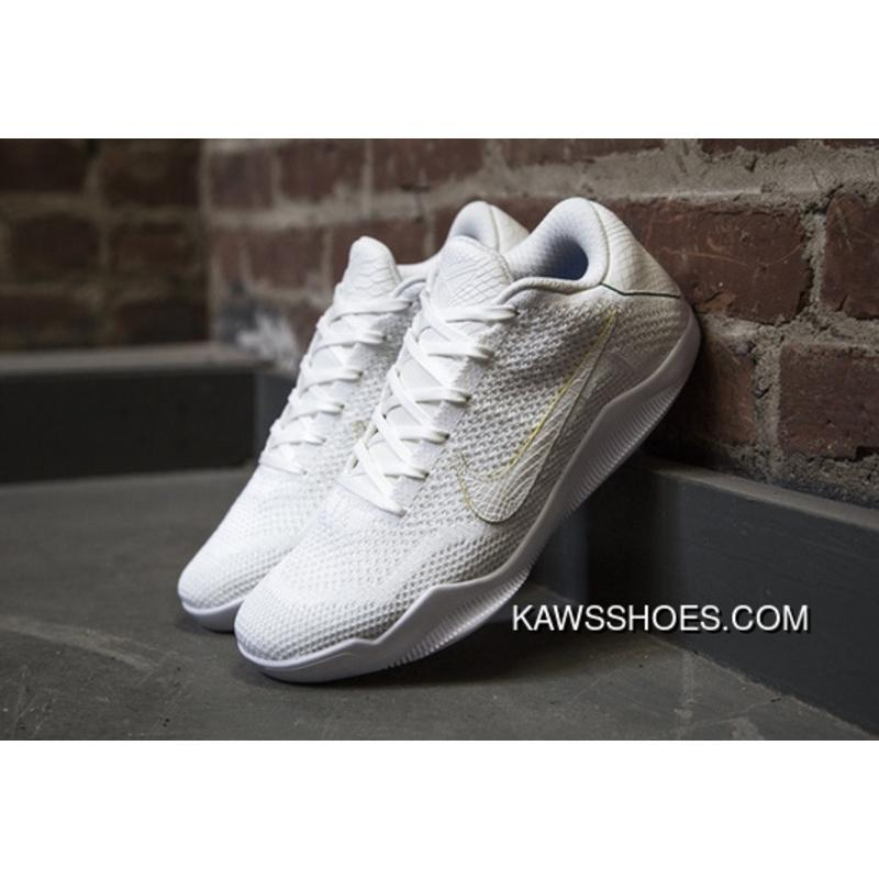 check out 21cac ffbd2 New Royal White Nike Kobe 11 Elite Low Brazil Game Kobes Shoes Shoes  TopDeals