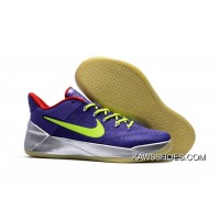 72987746e537 New Nike Kobe A.D. Shoes Silver Volt Red Purple Shoes TopDeals