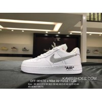 7f4fafd4a62d6 Women Men Free Shipping Nike OFF-WHITE X Air Force 1 Low One Classic
