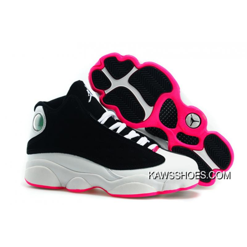 the latest 239c8 9428d New Hyper Pink White Black Womens Air Jordan 13 Xiii Shoes TopDeals