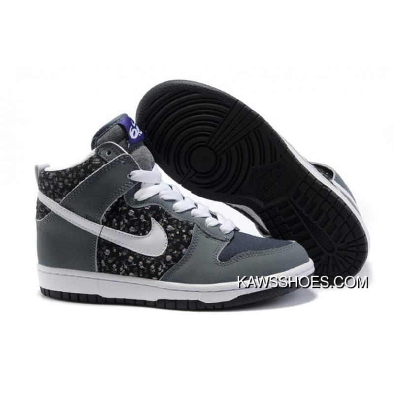 info for 457af 79245 New White Grey Womens Nike 6.0 Dunk High Tops 342257 004 Shoes TopDeals ...