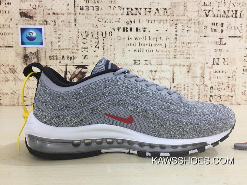 Free Shipping Nike 97 Bullet 97 Bullet Undefeated X Air Max 97 To Be 97 Bullet Silver Bullet Drill Bullet 927508 002 Women Shoes And Men Shoes