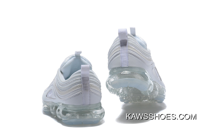 finest selection 4561c 13661 NIKE Hybrid Series Incoming AIR VAPORMAX 97 All White Top Deals