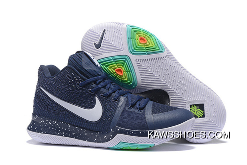 cheap for discount 2e7a7 7038b New Navy Kyrie 3 Shoes Whitekyrie 3 Shoes TopDeals