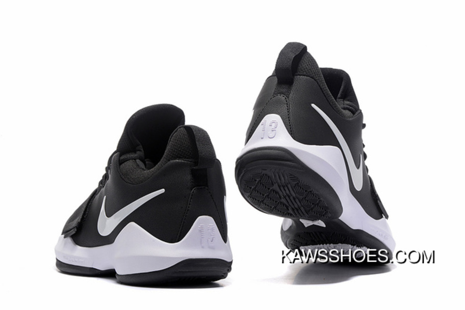 c53555d37a New Nike Pg 1 On Black White Shoes TopDeals, Price: $87.36 - KAWS X ...